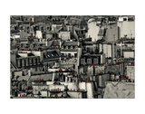 Chimneys of Paris Giclee Print by Sabri Irmak