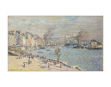 Port of Le Havre, 1874 Giclee Print by Claude Monet