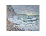F&#233;camp, bord de mer, 1881 Giclee Print by Claude Monet