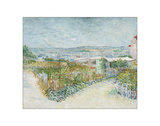Montmartre: Behind the Moulin de la Galette, 1887 Giclee Print by Vincent van Gogh