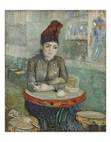 In the Cafe: Agostina Segatori in Le Tambourin, 1887 Giclee Print by Vincent van Gogh
