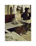In the Cafe, 1873 Giclee Print by Edgar Degas