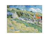 Cottages, 1890 Giclee Print by Vincent van Gogh