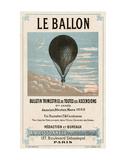 Le Ballon, Paris Giclee Print