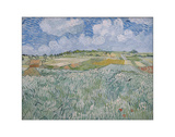 Plain Near Auvers, 1890 Giclee Print by Vincent van Gogh