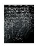 Thoughts on a Chalkboard Giclee Print by Carolina Pecora