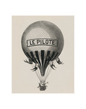 Le Pilote Giclee Print