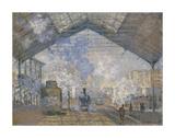The Saint-Lazare Station, 1877 Impressão giclée por Claude Monet