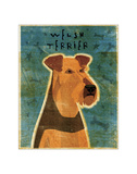 Welsh Terrier Giclee Print by John Golden