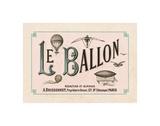 Le Ballon, ca. 1883 Giclee Print