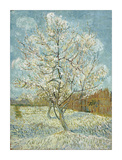 The Pink Peach Tree, 1888 Giclee Print by Vincent van Gogh