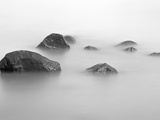 Stones on a Beach on the Baltic Sea Photographic Print