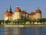 Baroque Castle Moritzburg Photographic Print by  Weber