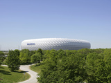 Football Stadium Photographic Print by Peter Widmann