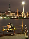 Hamburg Harbor Photographic Print by Nils Nethen
