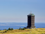 Weather Station on Brocken Mountain Photographic Print by Ullrich Gnoth