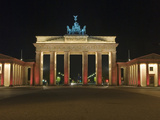 The Brandenburg Tor in Berlin for the Festival of Lights Photographic Print by Christian Beier