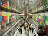 Metro Station Georg-Brauchle-Ring Munich Photographic Print by Christian Bullinger