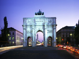 Victory Gate Photographic Print by Peter Widmann