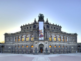 Semperoper Dresden Photographic Print by  Weber