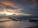Beach of Westerland Photographic Print by Beate Zoellner