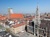 Marienplatz Photographic Print by  Shalamov