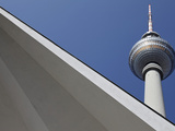 Tv Tower Photographic Print by Daniel Hohlfeld