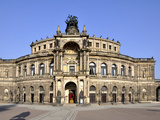 Dresden Semperoper Photographic Print by Steffen Schumann