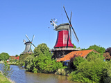 Twin Mills Greetsiel Photographic Print by  Boyungs