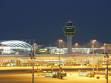 Munich Airport Center Photographic Print by Peter Widmann