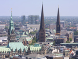 Skyline of Hamburg City Photographic Print by Andreas Rose