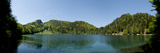 Lake Alatsee in Bavaria Photographic Print by Alexander Bernhard