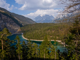 The Mountain Zugspitze View from Austria Photographic Print by poster photo