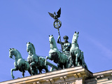 Berlin Brandenburger Tor Quadriga Photographic Print by Steffen Schumann