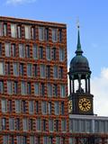 St. Michaelis Church in Hamburg Photographic Print