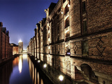 Old Warehouse District Speicherstadt in Hamburg Photographic Print by Christian Ohde