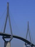 Koehlbrand Bridge Photographic Print
