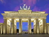 Brandenburg Gate in Berlin Photographic Print by  Weber