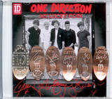 One Direction Lucky Coin Set - Signatures Novelty