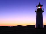 Sylt Lighthouse at Dusk Photographic Print by Bodo Ulmenstein