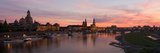 Panorama of the City of Dresden at Sundown Photographic Print by Ullrich Gnoth