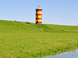 Lighthouse Pilsum Photographic Print by  Boyungs
