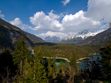 The Zugspitze View from Austria Photographic Print by poster photo