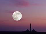 Lighthouse from Westerhever Photographic Print by  Erl