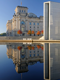 Reichstag and Paul-Loebe House Photographic Print