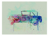 Old Car Watercolor Posters by  NaxArt