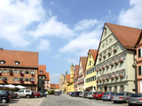 Old Town of Dinkelsbuehl Photographic Print by Peter Widmann