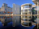 Reichstag Und Paul-Löbe-Haus Photographic Print by Ingo Schulz