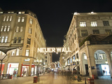 Christmas Time at Neuer Wall in Hamburg Photographic Print by Christian Ohde