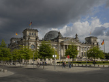 Reichstag Building Photographic Print by Reinhold Tscherwitschke